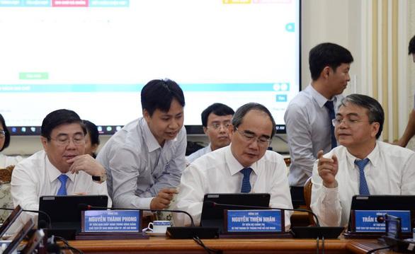 TP.HCM triển khai mô hình phòng họp không giấy - Ảnh 1.