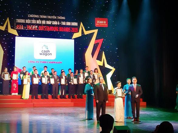 Cashwagon vào top 10 Thương hiệu tiêu biểu hội nhập Châu Á - Thái Bình Dương - Ảnh 1.