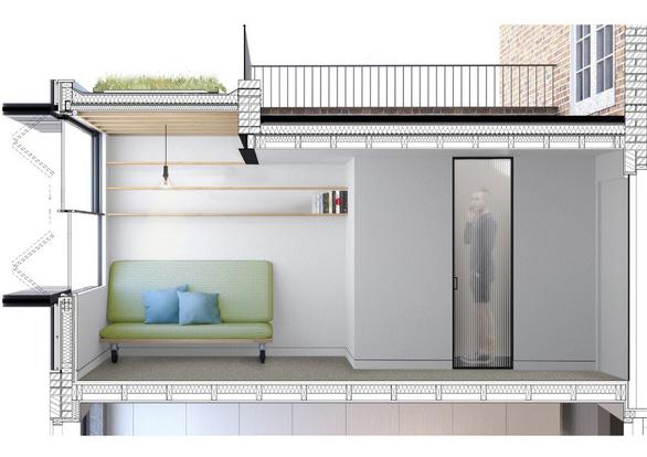 Giải pháp cơi nới sân thượng thành phòng làm việc tại gia - Ảnh 11.