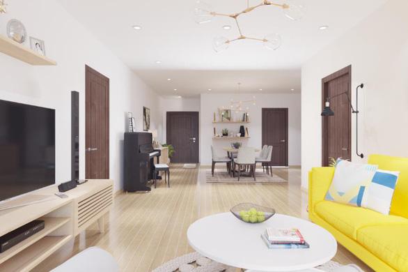 Tư vấn hoàn thiện nội thất căn hộ 3 phòng ngủ với kinh phí 200 triệu đồng - Ảnh 3.