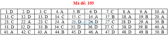 Bài giải gợi ý môn toán thi THPT quốc gia 2019 - đủ 24 mã đề - Ảnh 6.