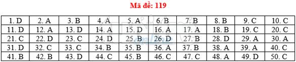 Bài giải gợi ý môn toán thi THPT quốc gia 2019 - đủ 24 mã đề - Ảnh 20.