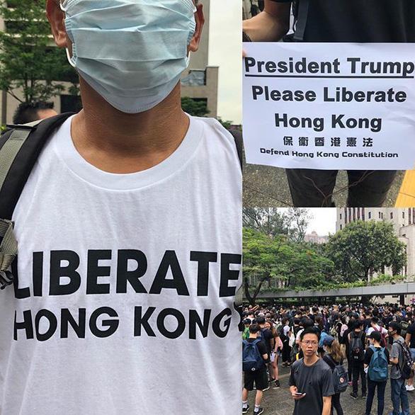 Người biểu tình Hong Kong gây sức ép với G20 về dự luật dẫn độ - Ảnh 2.