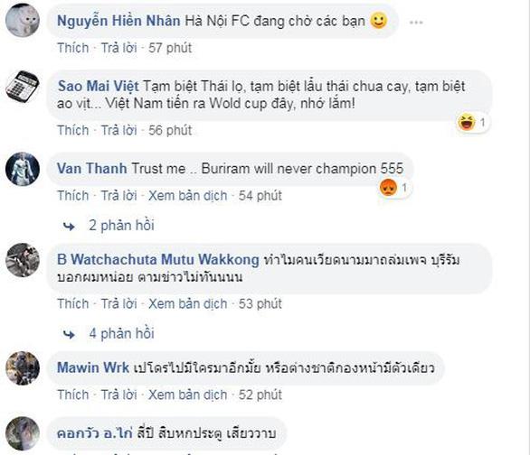 Xuân Trường ra đi, CĐV Việt Nam chia tay Buriram United - Ảnh 1.