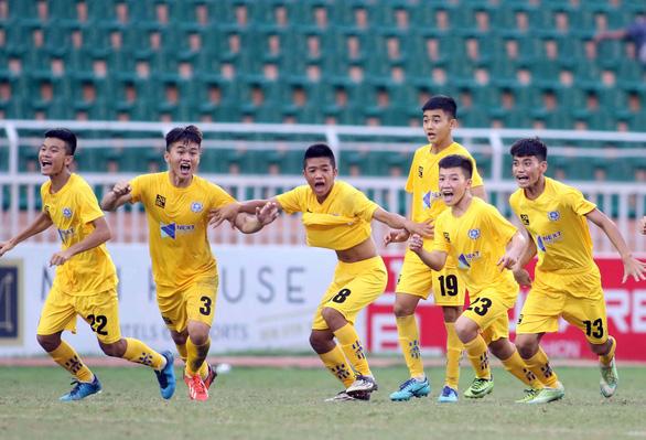 Thanh Hóa hạ Viettel để vào chung kết U15 quốc gia 2019 - Ảnh 1.