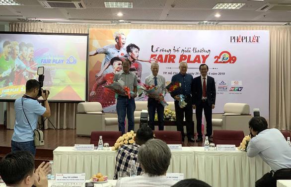 Hai trọng tài được đề cử giải thưởng Fair play 2019 - Ảnh 1.