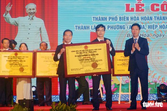 Thành lập 6 phường mới thuộc TP Biên Hòa - Ảnh 1.