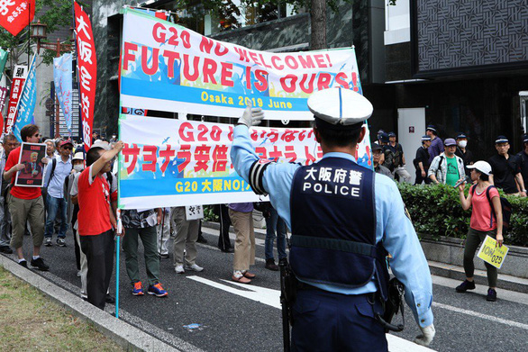 Hội nghị G20: 32.000 cảnh sát bảo vệ 30.000 quan khách - Ảnh 3.