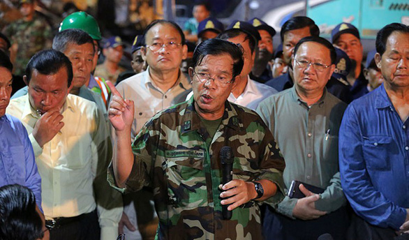 Thủ tướng Campuchia bác chỉ trích nói Trung Quốc thuộc địa hóa bằng đầu tư - Ảnh 1.