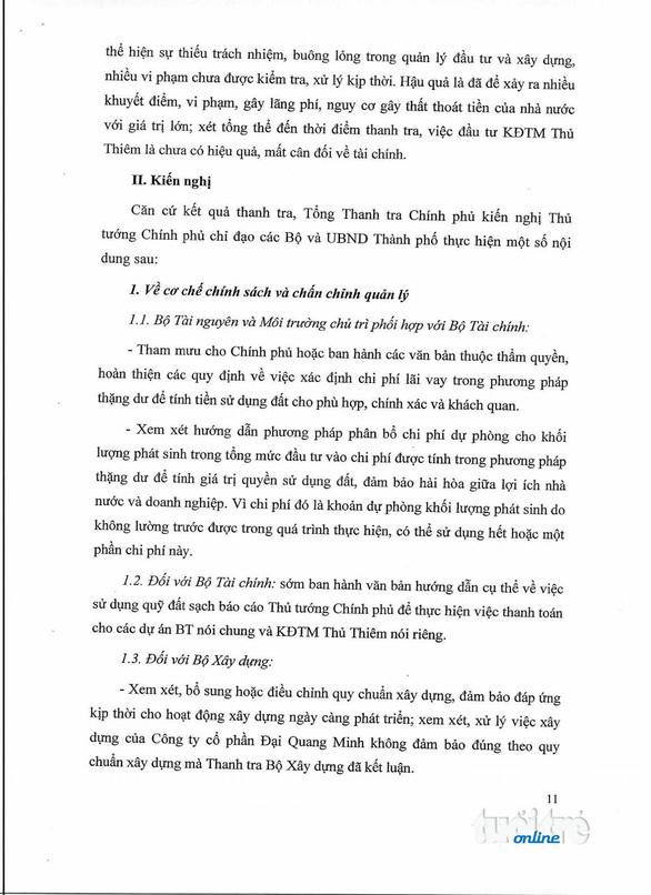 Thanh tra Chính phủ công bố kết luận thanh tra Thủ Thiêm - Ảnh 12.