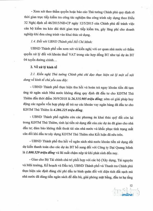 Thanh tra Chính phủ công bố kết luận thanh tra Thủ Thiêm - Ảnh 13.