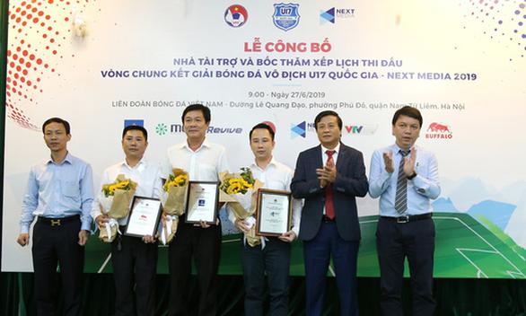 Tám đội tham dự VCK giải bóng đá U17 Quốc gia 2019 - Ảnh 1.