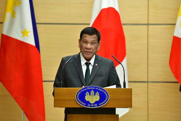 Ông Duterte thách Mỹ, Anh, Pháp phản đối Trung Quốc ở Biển Đông - Ảnh 1.