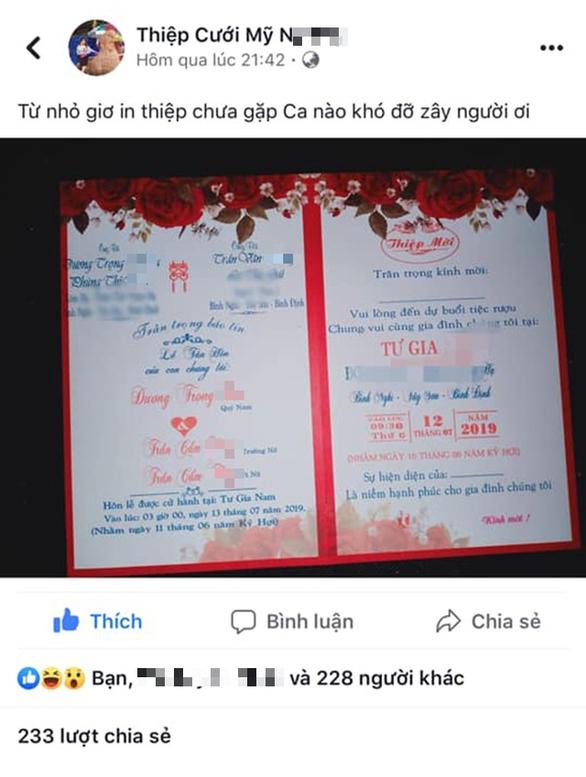 Sự thật về tấm thiệp hồng 1 chú rể cưới 2 chị em ruột - Ảnh 1.