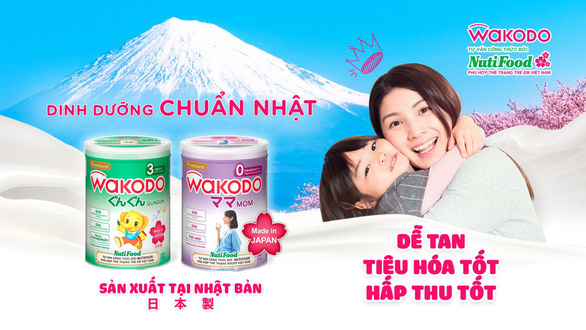 Liên doanh Asahi Nutifood đưa sữa chuẩn Nhật về Việt Nam - Ảnh 1.