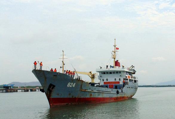 Hải đoàn 129 tiếp nhận tàu vận tải quân sự - Ảnh 1.