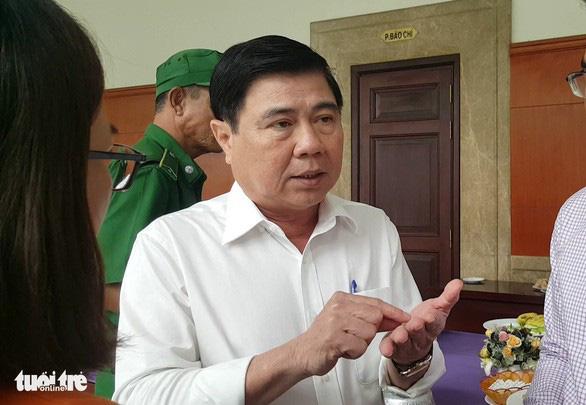 Chủ tịch Nguyễn Thành Phong: Sớm họp báo về kết luận thanh tra vụ Thủ Thiêm - Ảnh 1.