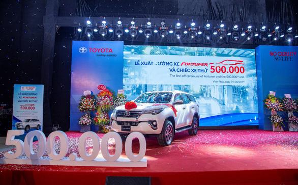 Nửa triệu chiếc xe xuất xưởng - dấu ấn Toyota - Ảnh 1.