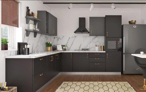 Tìm hiểu cách bố trí phòng bếp hình chữ L - Ảnh 1.