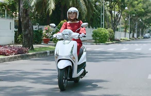 Yamaha Latte quyến rũ chị em với thiết kế ngọt ngào - Ảnh 1.