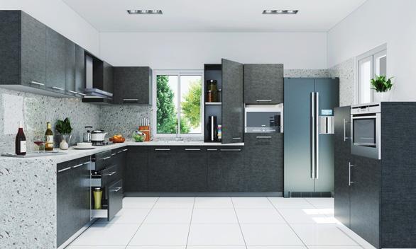 Tìm hiểu cách bố trí phòng bếp hình chữ L - Ảnh 11.
