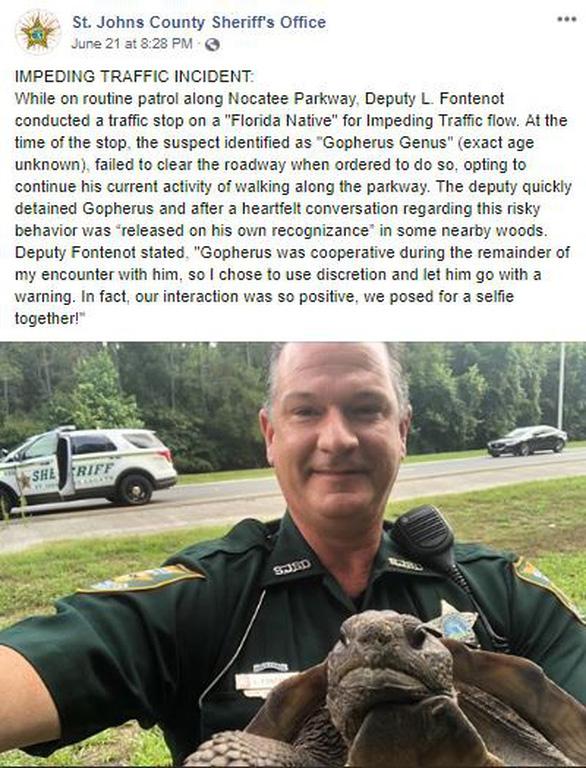CNN: Cảnh sát Florida đã bắt một cư dân di chuyển chậm - Ảnh 2.