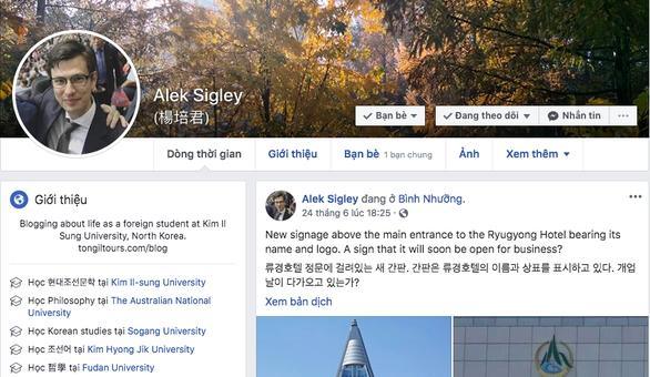 Sinh viên Úc nghi bị giam giữ ở Triều Tiên, chính phủ Úc lo sốt vó - Ảnh 2.