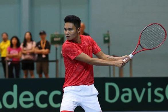 Tuyển VN giành suất thăng hạng tại Davis Cup - Ảnh 1.