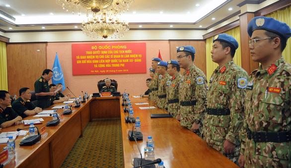 Thêm 7 sĩ quan Việt Nam đi làm nhiệm vụ gìn giữ hòa bình Liên Hiệp Quốc - Ảnh 3.
