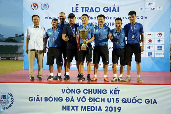 Như Thuật và Văn Quyến đưa Sông Lam Nghệ An vô địch U15 quốc gia 2019 - Ảnh 2.