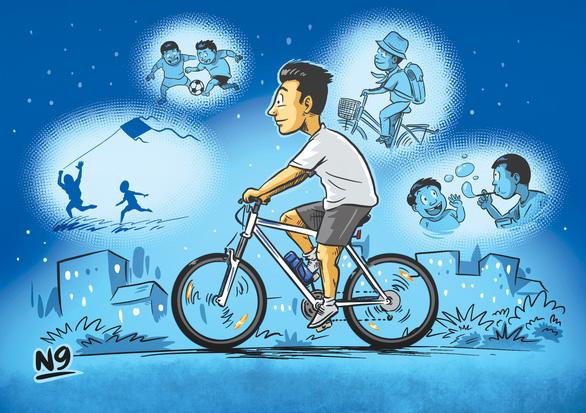 Đạp xe để hòa mình với thiên nhiên - Ảnh 1.