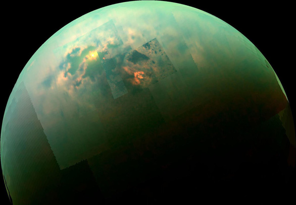Tàu NASA thăm dò sự sống trên mặt trăng sao Thổ - Ảnh 2.