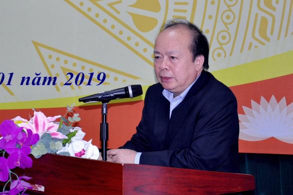 Cảnh cáo Thứ trưởng Bộ Tài chính Huỳnh Quang Hải - Ảnh 1.