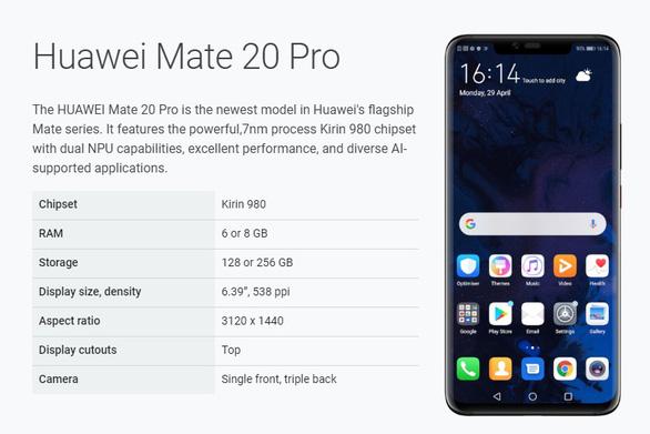 Điện thoại Huawei Mate 20 Pro bất ngờ được Google cho nâng cấp lên Android Q beta - Ảnh 1.