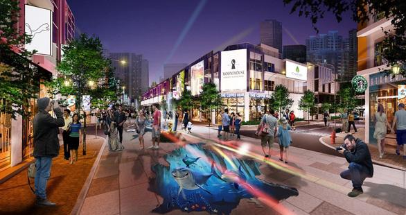 Sắp xuất hiện phố đi bộ 3D độc đáo tại Phú Mỹ - Ảnh 2.