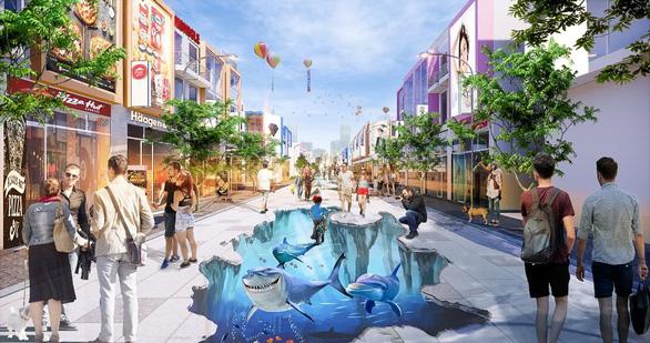 Sắp xuất hiện phố đi bộ 3D độc đáo tại Phú Mỹ - Ảnh 3.