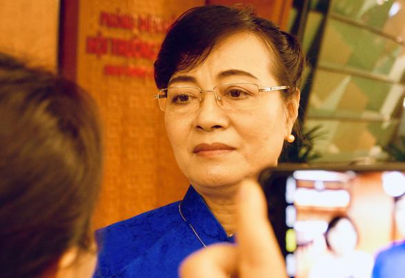 Bà Nguyễn Thị Quyết Tâm ngạc nhiên, khó hiểu việc ông Đoàn Ngọc Hải từ chức - Ảnh 1.