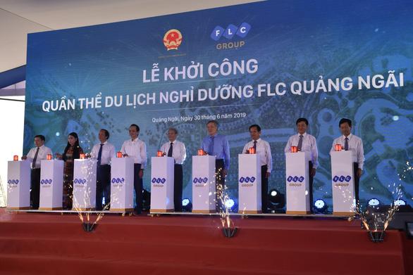 FLC bỏ 11.000 tỉ xây quần thể du lịch tại Quảng Ngãi - Ảnh 1.