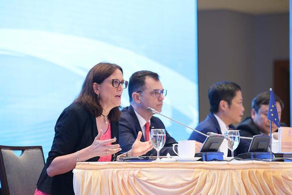 EVFTA là thông điệp của Việt Nam và EU giữa chiến tranh thương mại - Ảnh 1.