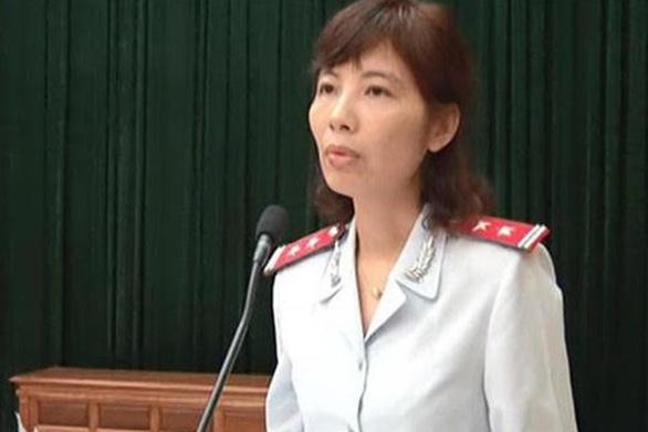 Chưa có kết luận điều tra bà Kim Anh nhận hối lộ hay vòi tiền - Ảnh 1.