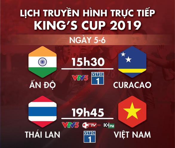 Lịch truyền hình trận Thái Lan gặp Việt Nam ngày 5-6 - Ảnh 1.
