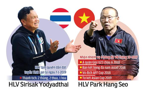 Tuyển Thái Lan - Việt Nam: Quyết định ở hai vị tướng - Ảnh 1.