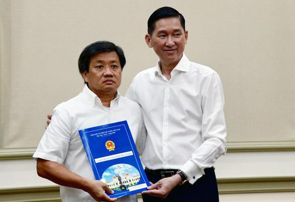 Ông Đoàn Ngọc Hải được điều về Tổng công ty Xây dựng Sài Gòn TNHH một thành viên - Ảnh 2.
