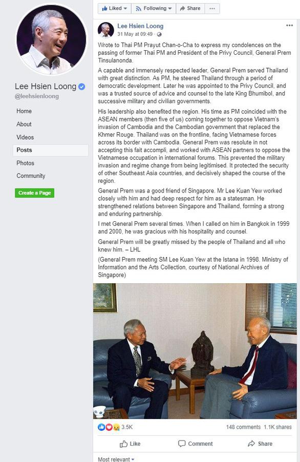 Việt Nam lấy làm tiếc phát ngôn của Thủ tướng Lý Hiển Long về vấn đề Campuchia - Ảnh 2.