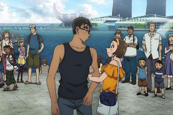 Phim mới về thám tử Conan có bối cảnh tại Singapore - Ảnh 1.