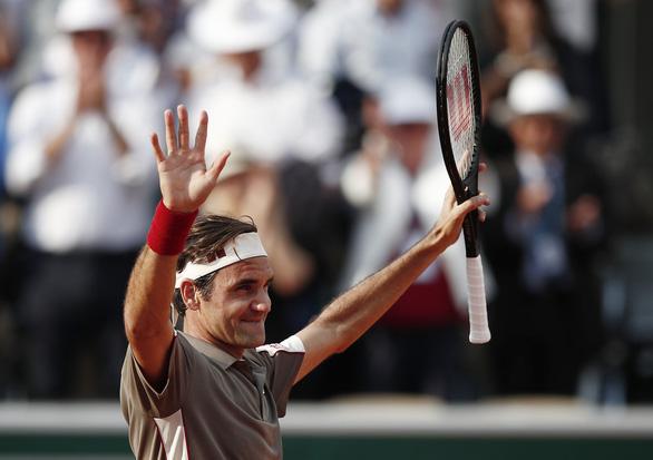 Federer gặp Nadal ở bán kết Roland Garros 2019 - Ảnh 1.