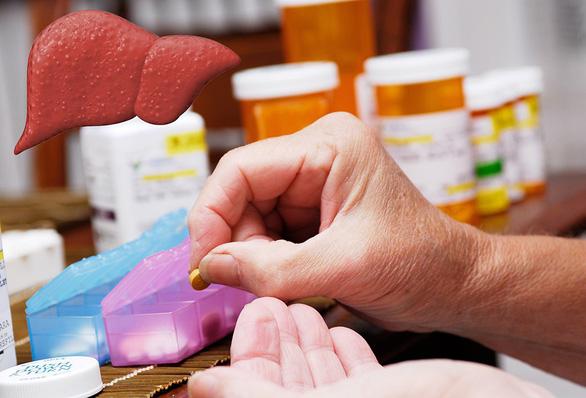 Ảnh hưởng của thuốc đến gan - Ảnh 1.