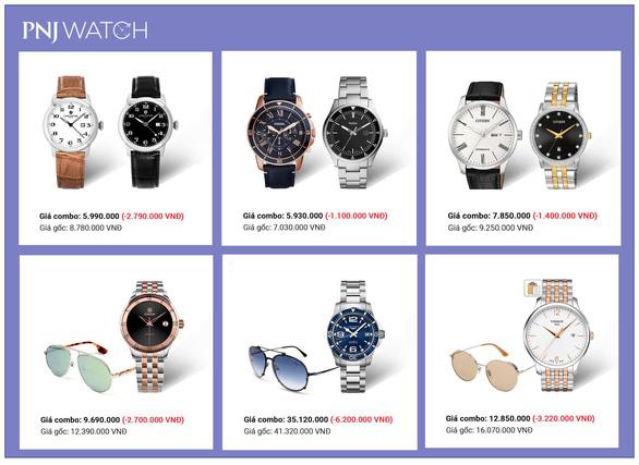 Ưu đãi đến 32% khi mua đồng hồ nhân Ngày của cha tại PNJ WATCH - Ảnh 2.