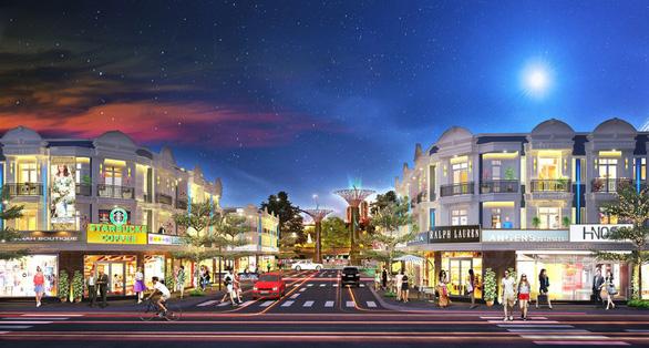 Ra mắt nhà phố thương mại Uni Mall Center tại Thuận An - Ảnh 1.