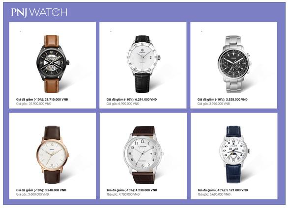 Ưu đãi đến 32% khi mua đồng hồ nhân Ngày của cha tại PNJ WATCH - Ảnh 3.